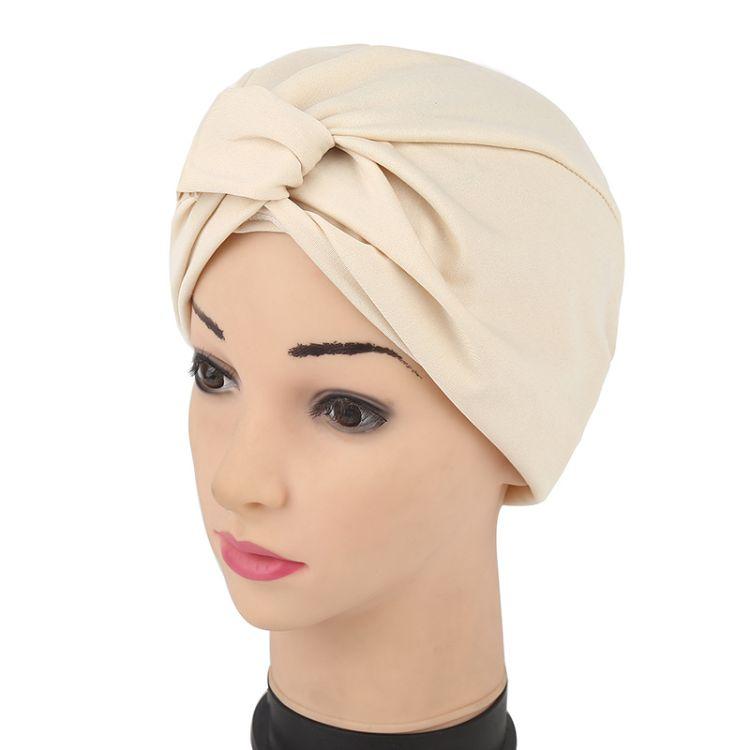 新款弹力薄款印度帽子 穆斯林头巾包头帽 速卖通 ebay热卖