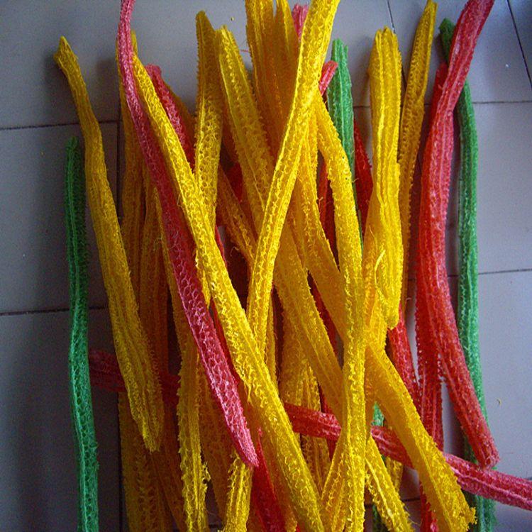 大量供应彩色丝瓜络筋材料  彩色工艺品材料 玩具用品材料