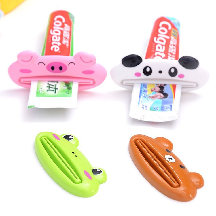 可爱卡通动物多用途挤压器挤牙膏器 韩版创意牙膏挤压器