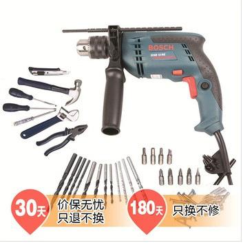 博世(Bosch)GSB13RE set13毫米冲击钻套装 官方正品 特价
