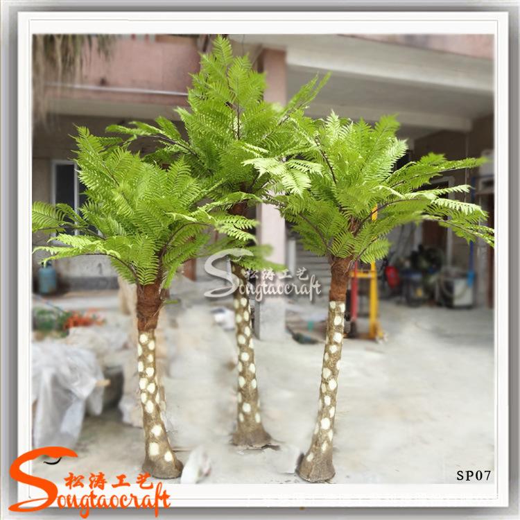 广东厂家专业生产桫椤树叶仿真室内外装饰仿真桫椤树人造假树