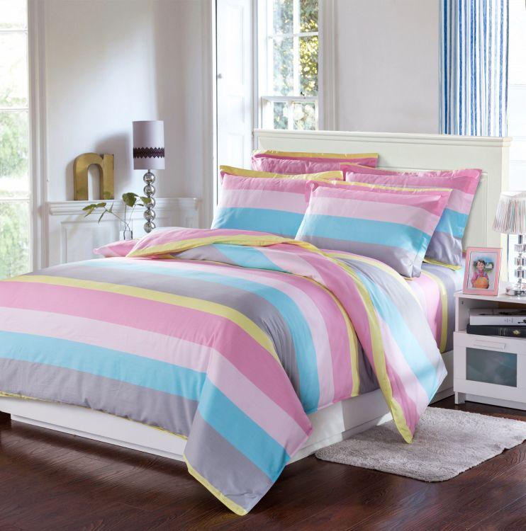 厂家供应床单面料 全棉家纺布料 纯棉斜纹布料 宽幅加厚133*72