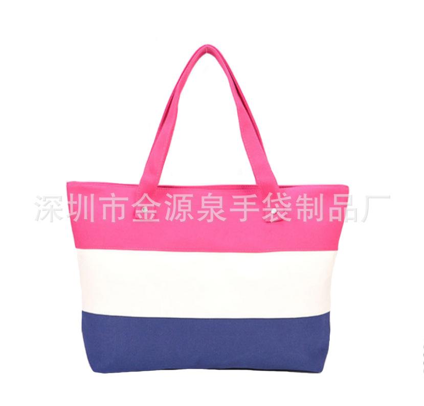 深圳厂家专业定制时尚双肩帆布包 棉布袋 全棉袋定做批发