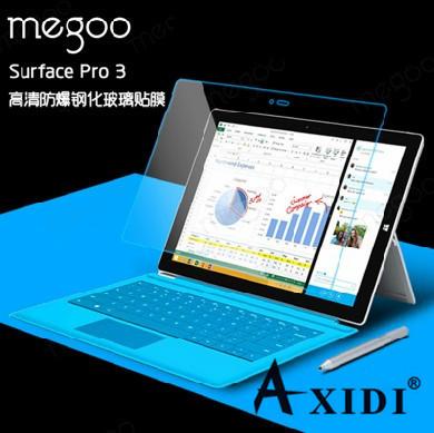 新款爆款Surface 3保护膜 平板电脑贴膜PRO 3 钢化玻璃膜厂家直销