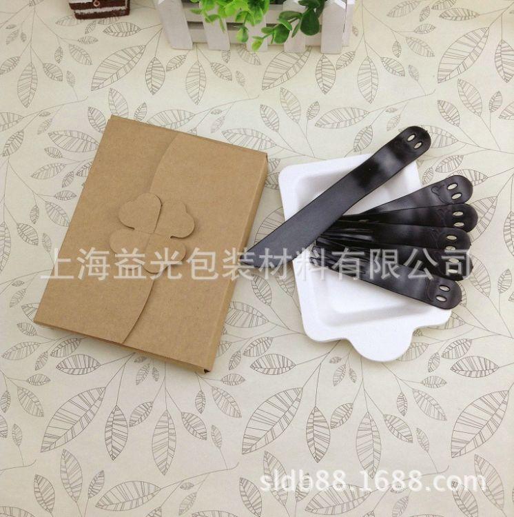 直销长方形分餐盘套装 食品级甘蔗浆塑料刀叉勺刀叉套装批发