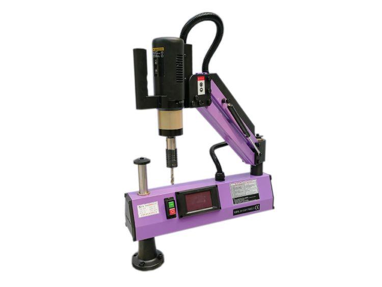 新沃德机床批发零售高品质伺服智能电动M3-M16不锈钢攻丝机攻牙机