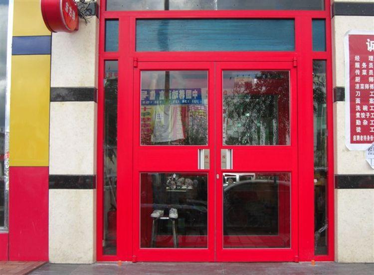 云南肯德基门 价格优惠门 坚固耐用 焊接不变形