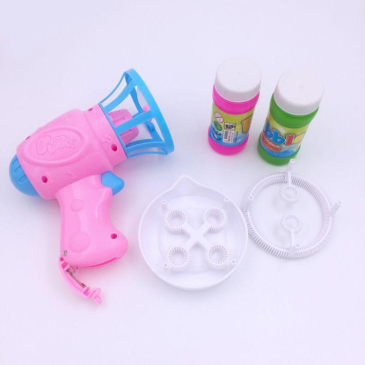 厂家批发 爆款热卖儿童电动泡泡玩具全自动吹泡泡环保无毒小喇叭