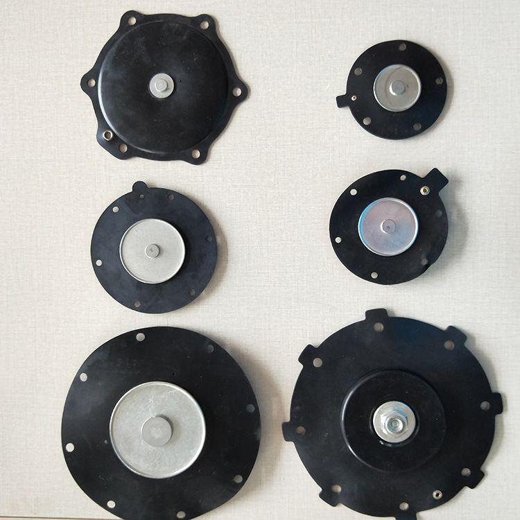 现货供应 阀门配件电磁脉冲阀膜片 橡胶1寸2寸3寸脉冲阀膜片 定制