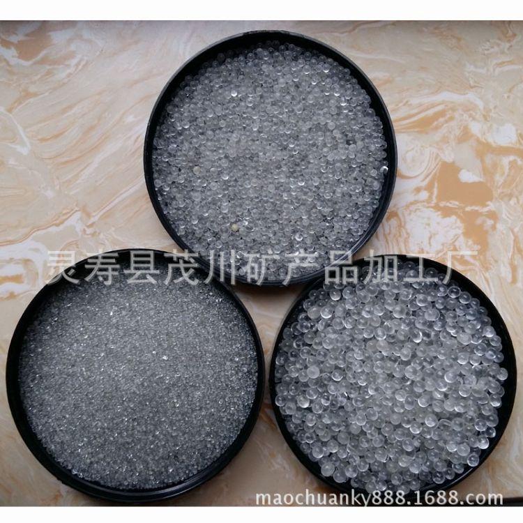 大量供应玻璃微珠 涂料用玻璃微珠 道路标线反光玻璃微珠
