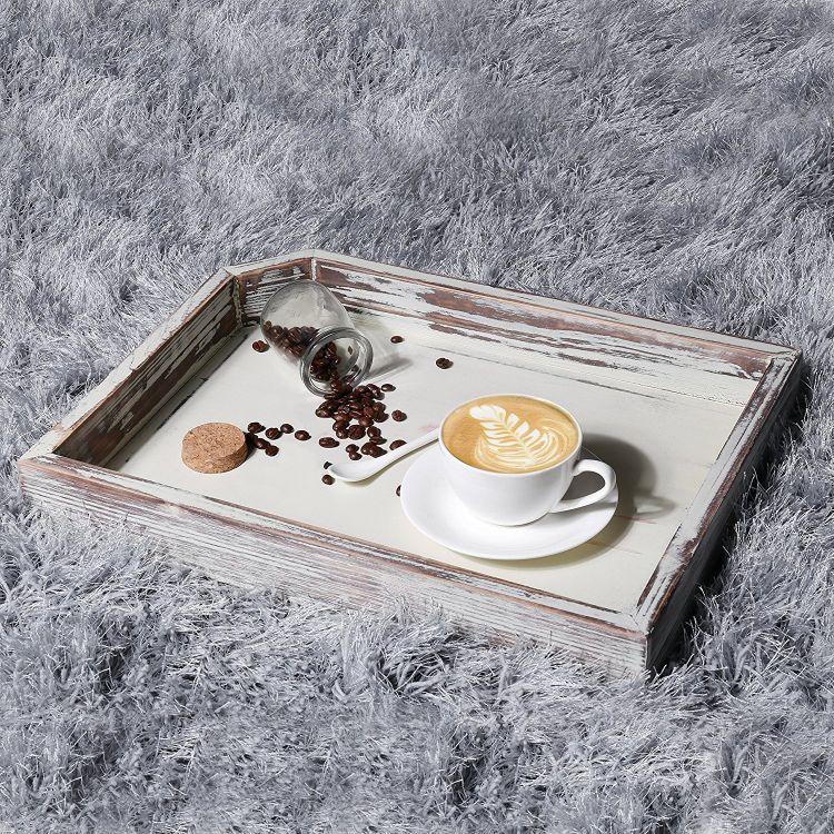 实木做旧托盘圆长方形家用面包板餐盘茶水盘糕点干果盘创意咖啡碟