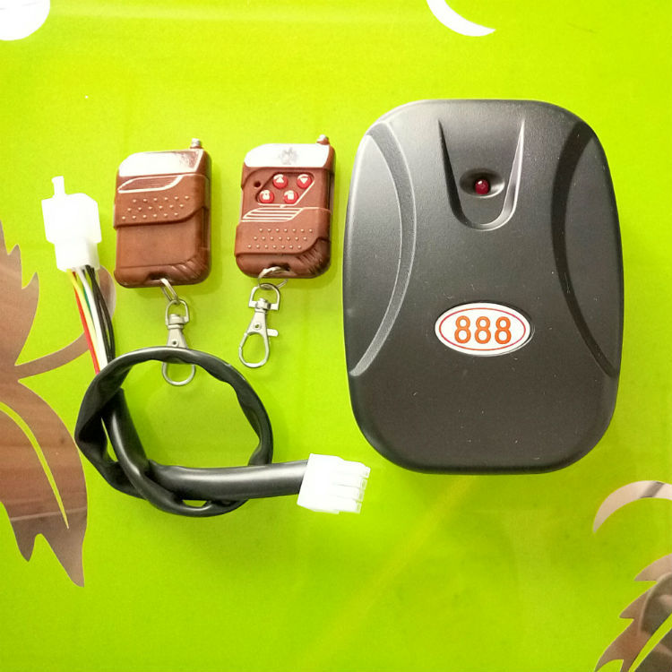 车库卷帘门外挂电机遥控盒888链条管状电动卷帘卷闸控制接收器315