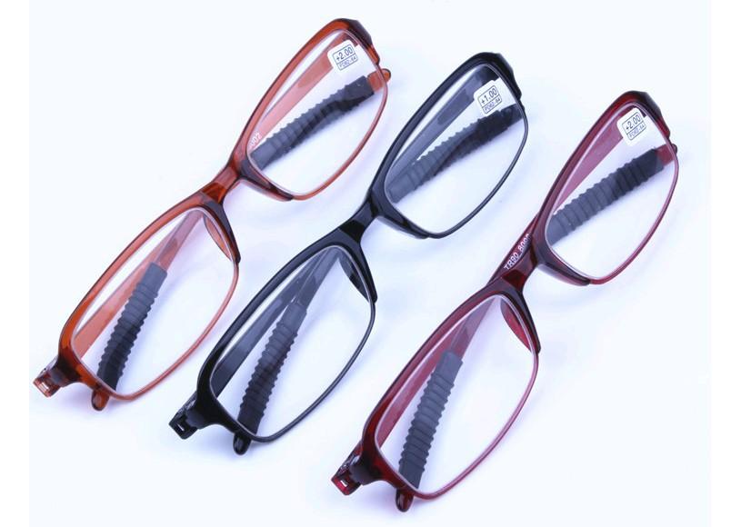 厂家批发 时尚超轻老花镜 防辐射老人镜 抗疲劳树脂TR90老花眼镜