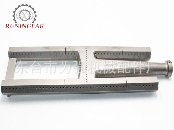 定制加工不锈钢铸造条形炉头铸造刀型燃烧器