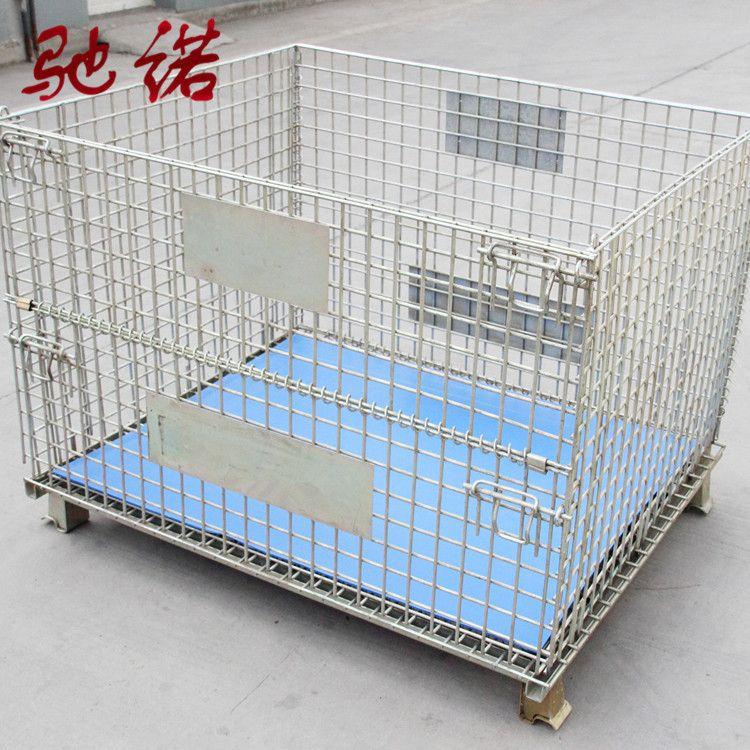驰诺厂家供应@带轮仓储笼蝴蝶笼 、 常年现货供应特殊尺寸可加工定制。
