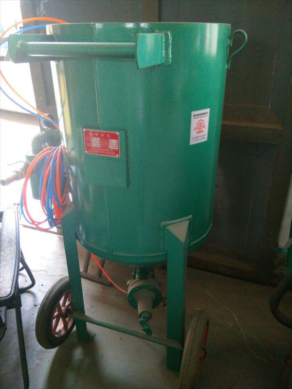 移动式厨房用品铁锅高压喷砂机厂家直销 质量可靠