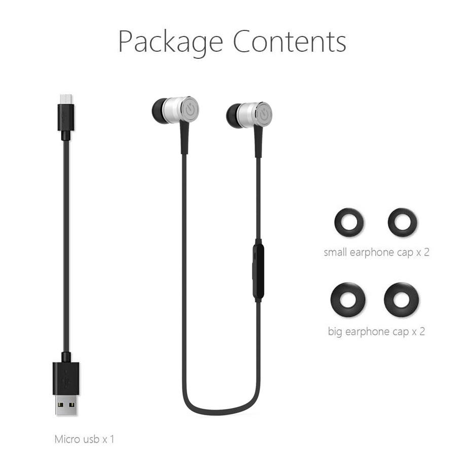 极控者新款智能手机耳机挂耳式运动跑步无线耳塞带麦可风穿戴配件