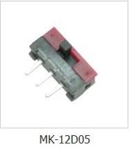 厂家直销质优拨动开关 SS竖柄 SK横柄 小电流拨动开关MK--12D05