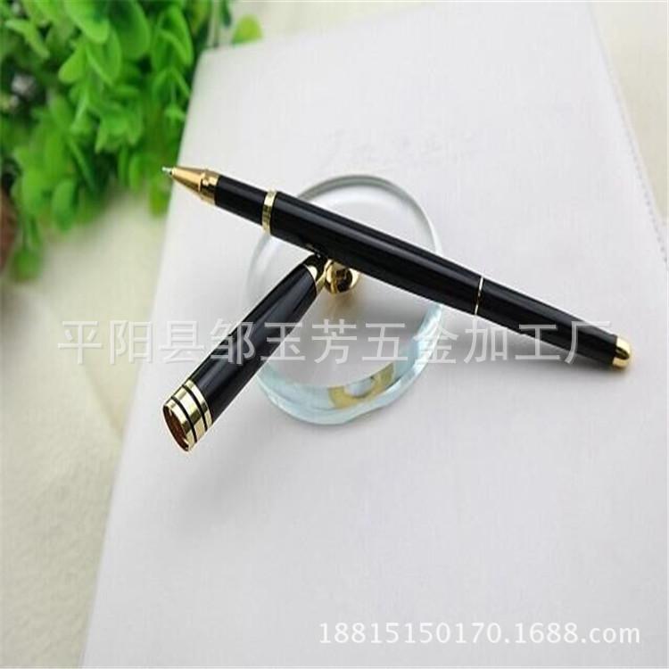 温州厂家生产加工高档商务金属台笔 高档塑料圆珠笔 金属台笔定制