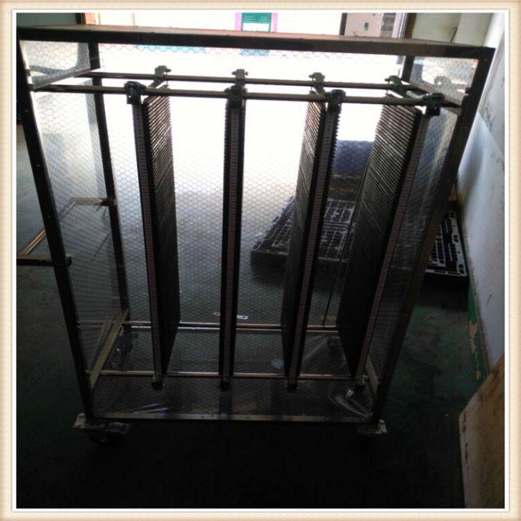 惠州厂家直销防静电PCB周转车 承重300公斤不锈钢防静电周转车