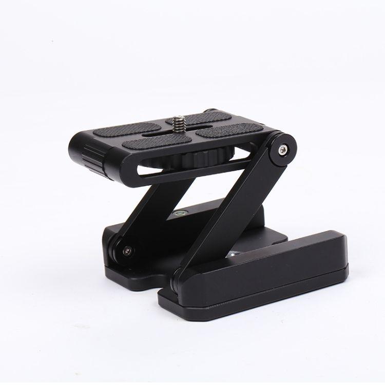 摄像滑轨 摄影器材Z型快装板折叠云台便携滑轨批发 相机折叠云台