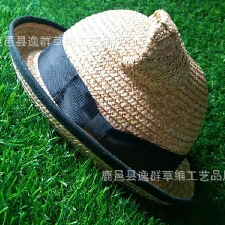 春夏季童帽猫咪造型儿童草帽太阳帽韩国潮男童女童遮阳帽宝宝帽子