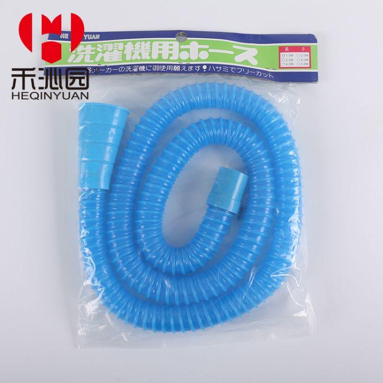 直销蓝色大口径排水用PE波纹管 高强度耐磨波纹管PVC软管排水管