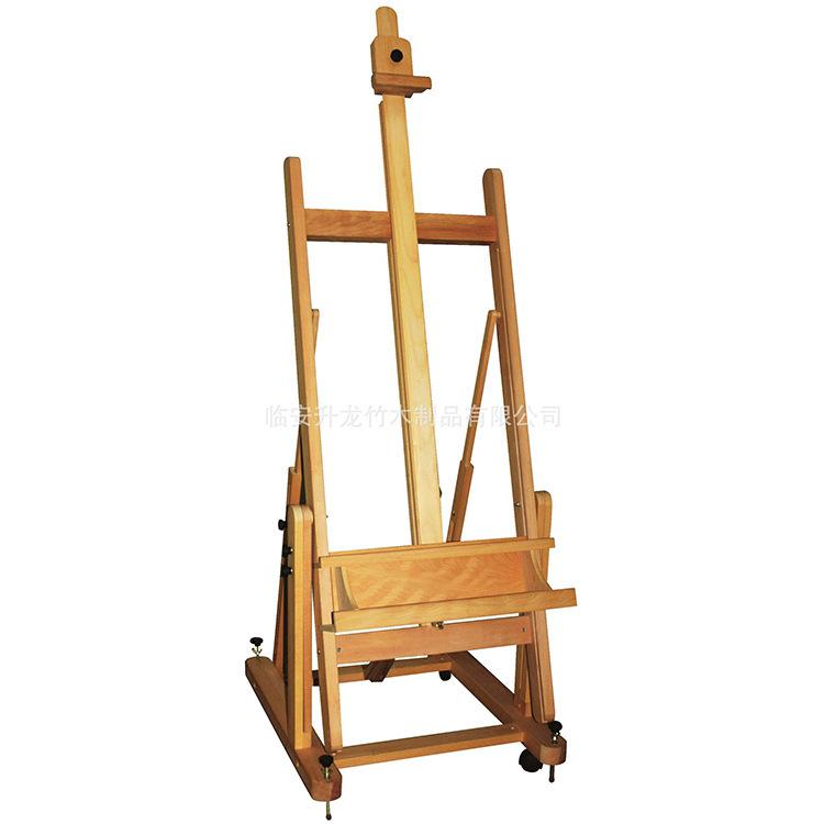 批发创意牢固耐用木画架 可定制轻便产品展示架 多功能竹制品画夹