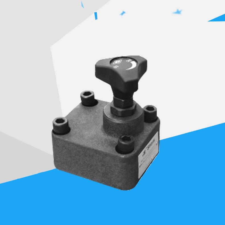 管板式单向节流阀DVP6