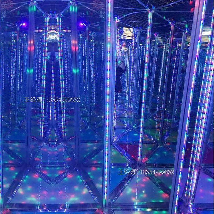 金鹏铁艺 镜子迷宫游乐设备 商用水晶梦幻玻璃迷宫 宫殿式玻璃钢迷宫定制