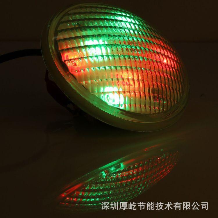 七彩 PAR56水底灯27W不锈钢泳池灯三层防水处理IP68 深圳厂家直销