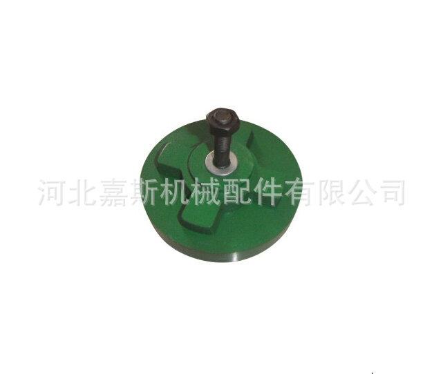 嘉斯厂家定制 各种机床减震可调垫铁 数控机床 圆形减震垫铁