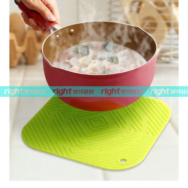 硅胶隔热垫 硅胶锅垫 硅胶桌垫 硅胶餐垫 硅胶厨房用品