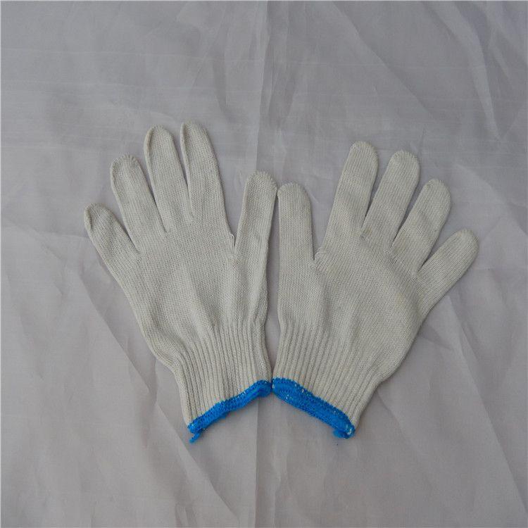 厂价直销 批发加厚耐磨 A级灯罩 棉纱线劳保手套 工作手部防护
