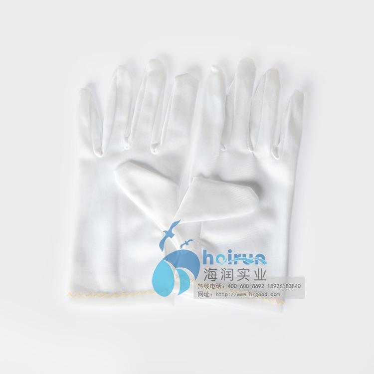 厂家供货 防静电条纹点塑手套