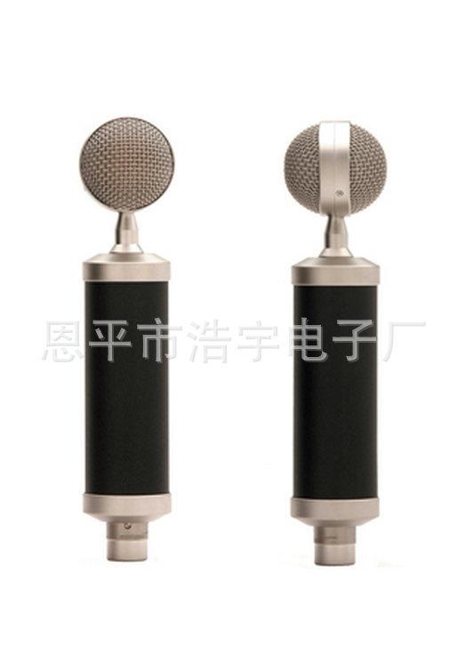录音大振膜奶瓶电容麦克风 电脑K歌录音 无线电容麦克风 K歌话筒