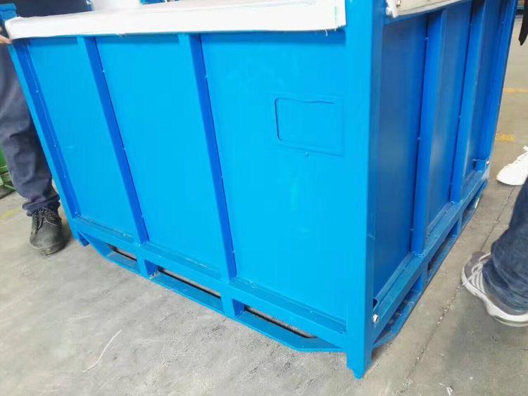 厂家定制设计生产 折叠式金属料箱 北京周转箱 物流箱金属箱