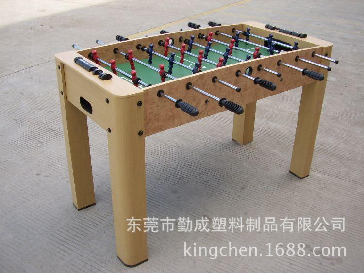 厂家直销 出口欧美 成人足球台 波比机 桌面足球 木纹足球 足球机
