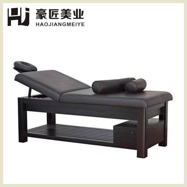 豪匠广州番禺区定制优质美容床 spa理疗床 靠背升降多功能厂家直销定制美容厂家直销