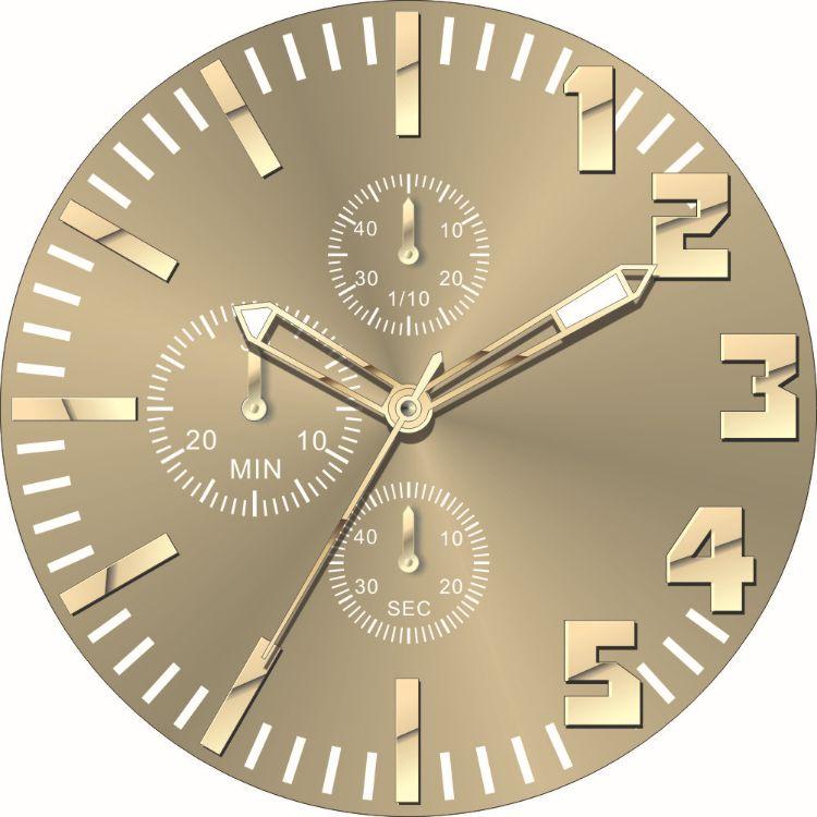 厂家供应手表表盘 手表配件 字面