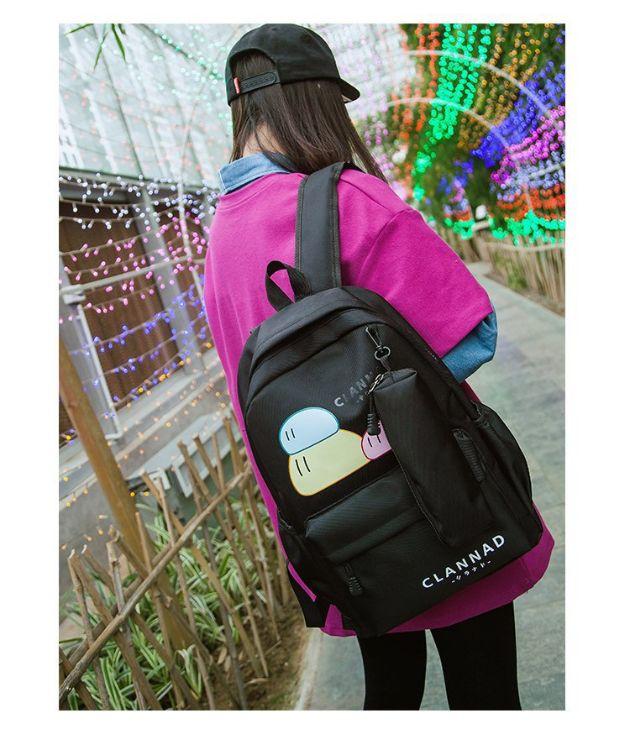 厂家直销包女韩版高中学生校园尼龙小清新背包初中生双肩书包