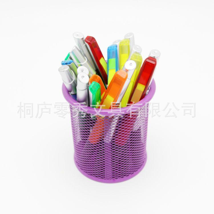 促销多功能圆珠笔 双头触控笔 标签荧光笔 可定制logo