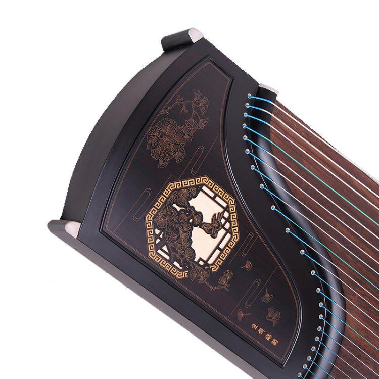 厂家直销黑檀古筝 教学筝 初学 考级 专业演奏 批发定制 一件代发