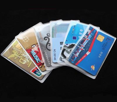 银行卡套 公交卡套 VIP卡套 防磁  各种PVC卡套