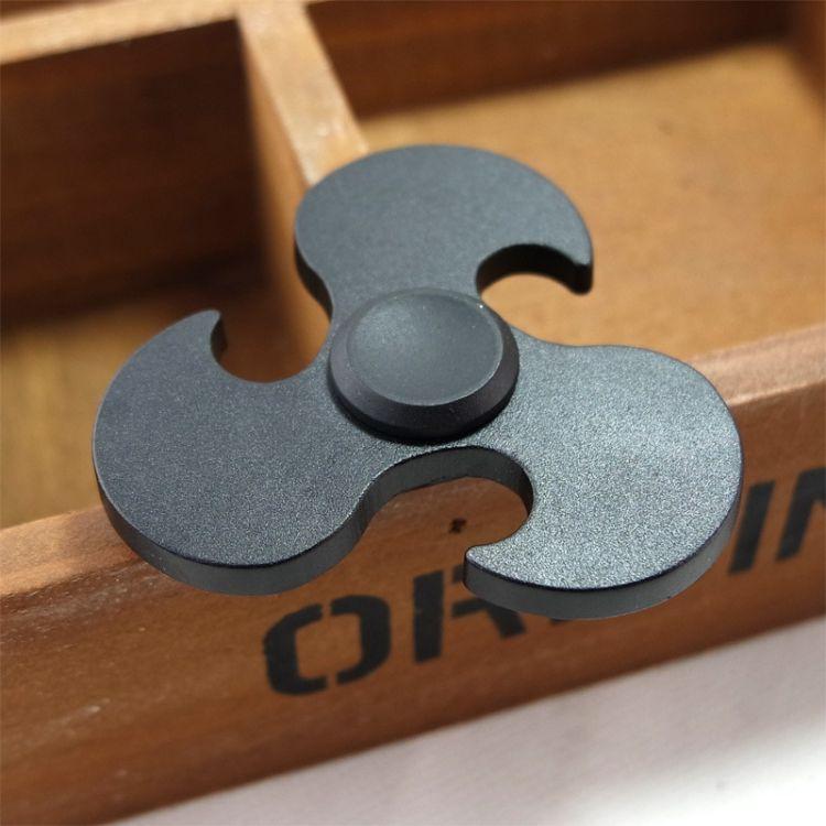 美国玩具EDC纯铝指尖陀螺torqbar指间螺旋合金手指陀螺解减压神器