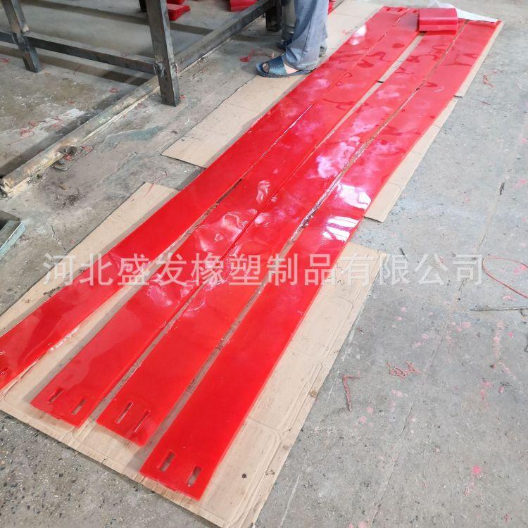 【盛发】厂家批发聚氨酯刮刀刮板板条 耐磨耐油耐腐蚀件抗撕裂异型件 聚氨酯制品