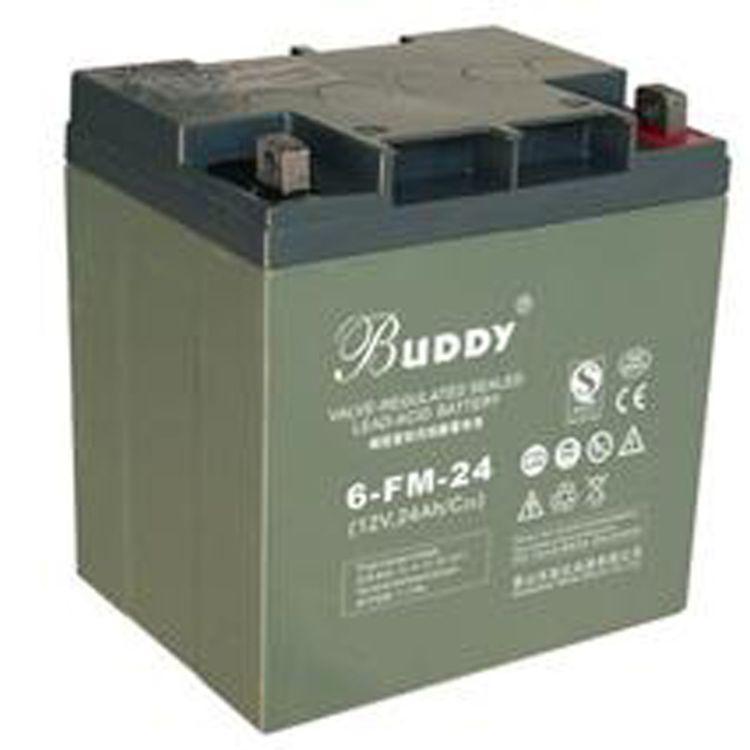 BUDDY/寶迪蓄電池6-FM-40 閥控鉛酸免維護12V40AH現貨銷售