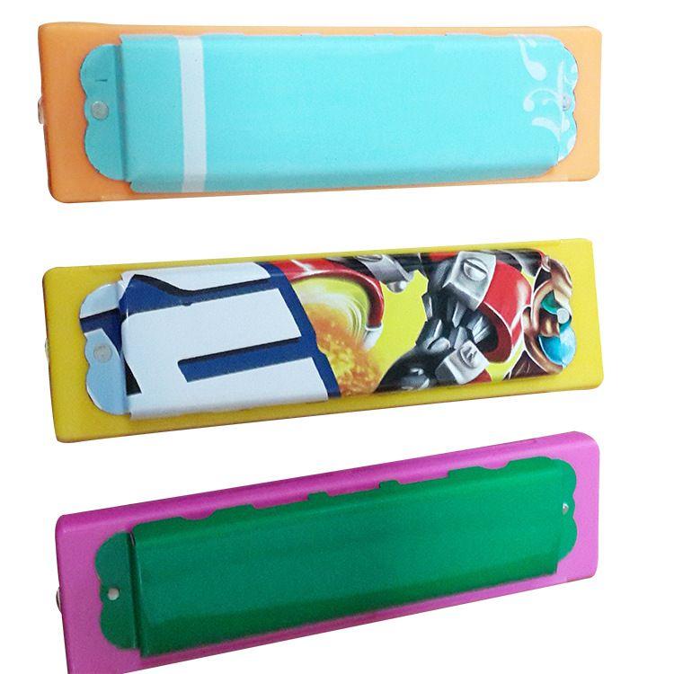 厂家供应批发 热销产品 十孔八音口琴  早教益智玩具口琴 可定制