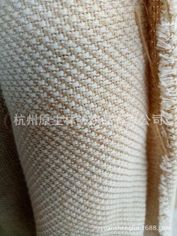 10S鞋材黄麻棉复古圣诞染色印花装卸节日外贸花束纯色婚庆背景