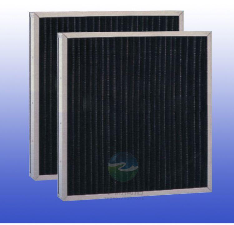 活性炭过滤网GC活性炭折叠式粗效空气过滤器干燥处理吸附过滤器